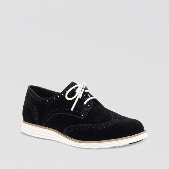 Cole Haan Shoes - Cole Haan Women's Lunargrand Wing-Tip Oxford 9.5